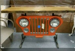 1945 1946 1947 1948 1949 Willys Professionaly Restored Jeep Grill Slot Grill