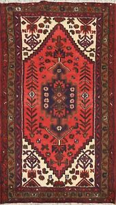 3x5 Geometric Tribal Hand Knotted Area Rug Traditional Oriental Kitchen Carpet