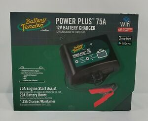 Battery Tender 75 Amp Engine Start Battery Charger 12v 20 Amp Booster