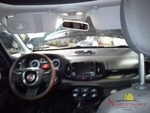 2014 Fiat 500 Steering Wheel Brown