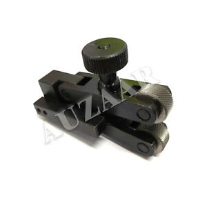 Auzaar Clamp Type V Knurling Tool Holder 5 20mm Capacity For Mini Lathe Vee