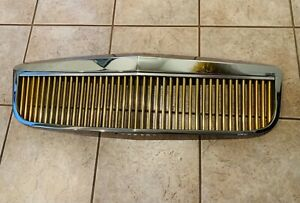 2000 2005 Cadillac Deville Grille E g Gold And Chrome