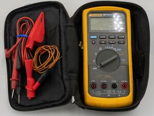 Fluke 787 Processmeter With Leads Case