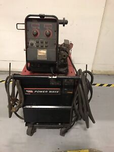 Lincoln Electric 455m Power Wave W 10m Power Feed Welder