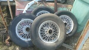 Mgb Wire Wheels And Caps