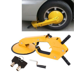 Tire Claw Parking Anti Theft Lock Wheel Lock Clamp Car Truck Atv Rv Boat Trailer
