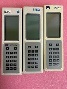 Abbott I stat Point Of Care Handheld Clinical Blood Analyzer For Parts lot 3