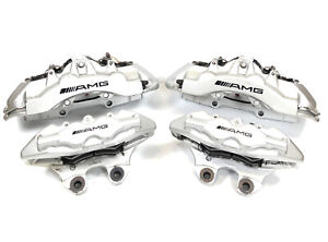 Mercedes W220 S55 W215 Cl55 Amg Front And Rear Brake Caliper Calipers Brembo