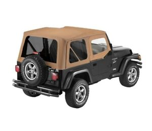 Bestop For Sailcloth Replace A Top Jeep 1997 2002 Wrangler