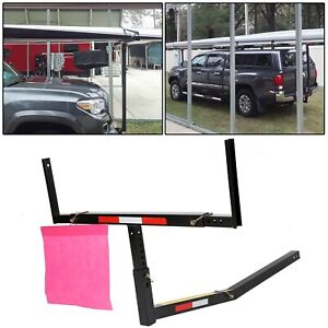 Pick Up Truck Bed Hitch Extender Extension Rack Boat Kayak Lumber Long Loads