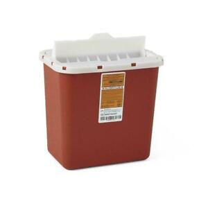 2 Gallon Medline Red Sharps Container 3 Pcs With Lids Or 2 Pcs W lids You Pik