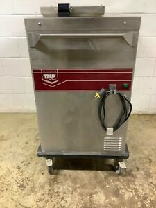 Mobile Heated Plate Warmer With 58 Plates By Dinex Tsbh2 Tested