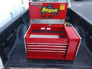 Vintage Snap On Tool Box Rick Mears Special Edition Top Box W 12 Drawers