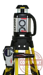 Agl Agatec Lt 200 Self leveling Rotary Laser Level transit topcon spectra trimbl