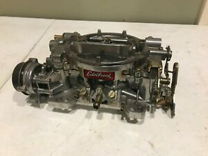 Edelbrock 4 Barrel Performer Series 600 Cfm Carburetor W Electric Choke 1406
