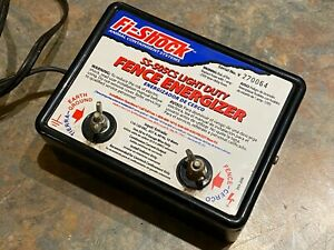 Fence Charger Energizer Fi shock Ss 505cs Light Duty