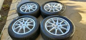 Porsche Panamera Wheels Tires Set Of 4 Genuine Oem 18 Inch