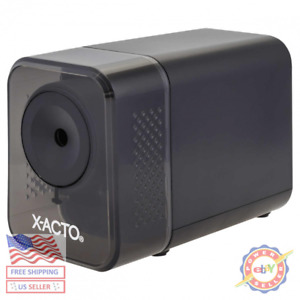 X acto Electric Pencil Sharpener Charcoal Black