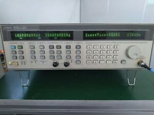 Agilent 83752b 10mhz 20ghz High Power Synthesized Sweeper W 1e1 1e5