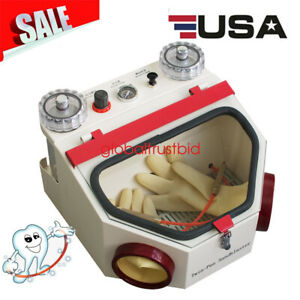 Dental Lab Dentistry Equipment Double Twin Pen Fine Blasting Sandblaster Quality
