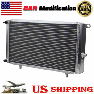 3 Row Intercooler Radiator Fit Jaguar Xjr Vdp Xkr S type Supercharger Mnc8200ad