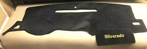 2008 2009 2010 2011 2012 2013 Chevy Silverado 2 Glove Box Dash Cover Bk Velour