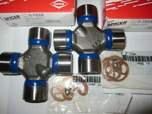2 Dana Spicer Forged 1310 U Joint Made In Usa Greasable 5 153x Jeep Chevy