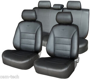 For Ford Ranger I 1998 2006 Seat Covers Perforated Leatherette
