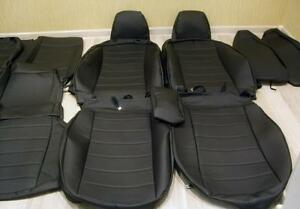 For Ford Mustang V 2004 2014 Coupe Seat Covers Perforated Leatherette