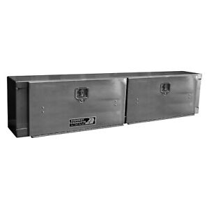 Highway Products 3813 001 High Side Tool Box W Smooth Bright Door