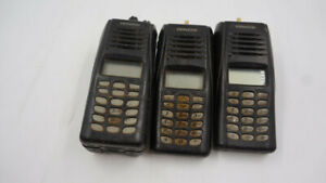 Lot Of 3 Nexedge Vhf Two way Radio Only 1x Battery