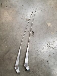 2 Vintage Trico Wiper Arms14 Inch Stainless Ford Truck 1957 F100