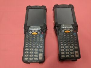 Lot X 2 Symbol Mc9090 Mobile Computer Pos Data Terminal Barcode Scanner Tested