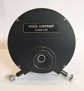 Olympus Ulwcd 0 30 Phase Contrast Condenser For Imt Microscope A1 Condition
