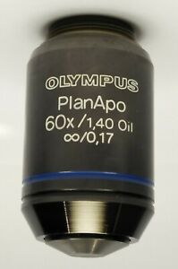 Olympus Microscope Planapo 60x 1 40 Oil Immersion Objective Excellent Lens