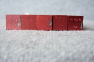 Lot of 5 qty MEC 12 Gauge Charge Bars 500 Series 5 different FREE SHIPPING $34.95
