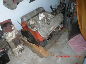 Chevy 396 4 Bolt Main Engine Balanced