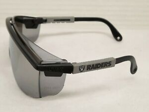 Uvex Astrospec 3000 Oakland Raiders Mirrored Lens Safety Glasses