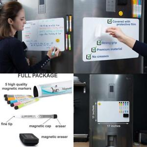 Magnetic Dry Erase Whiteboard Sheet For Fridge With New Stain Resistant Technolo