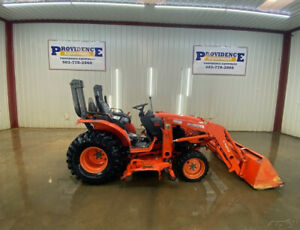 2006 Kubota B3030 Orops 4wd Hst Tractor With Power Steering