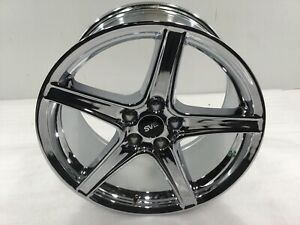 1994 04 Mustang Sve Saleen Style Wheel 18x9 Chrome