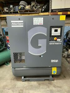 7 5 Hp Atlas Copco Ga5ffvsd Variable Speed Rotary Screw Compressor