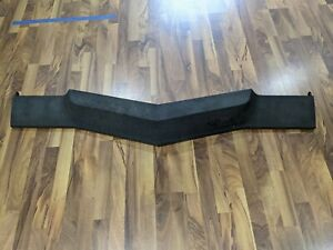 1973 73 Impala Caprice Header Panel Straight And Solid W Chevrolet Emblem