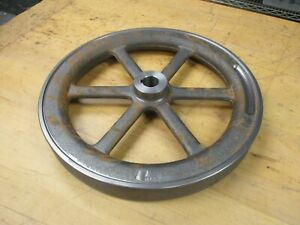 New 12 Hit And Miss Gas Or Steam Engine Cast Flywheel Fully Machined