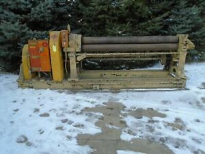 1 4 X 6 Hendley Whittemore Plate Bending Roll