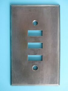 Vintage Steel Bryant Light Switch Plate Cover