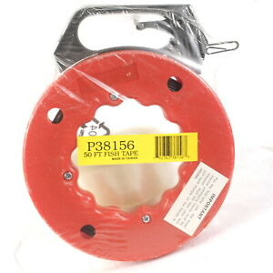40 Foot 40 Steel Fish Tape New Sealed Cable Puller Electric Line Puller