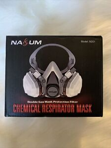 Na um Chemical Respirator Mask M201 Double Gas Mask Protection Filter