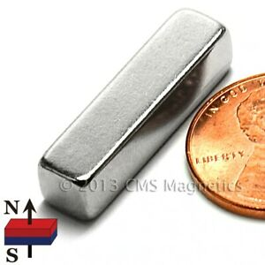 Super Strong Neodymium Magnet Block N52 1x1 4x1 4 Rare Earth Magnet 15 Pc