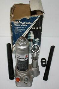 Sears Model 1213 2 Ton Hydraulic Bottle Jack Exc Working Condition